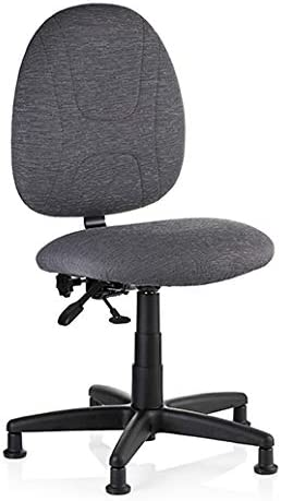 Reliable SewErgo Ergonomic Task Chair Sewing Chair with Adjustable Back, Easy Glide, Contoured Cushion, Waterfall Edge Seat, Height Adjustable, 250 Lb Weight Capacity, Heavy-Duty, Made In Canada