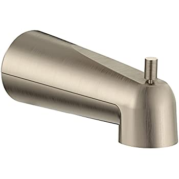 Moen 3853BN Tub Diverter Spout, Brushed Nickel - Tub