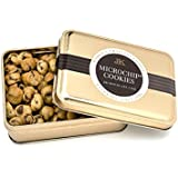 World's Tiniest, Most Irresistible Chocolate Chip Cookies | Be The Party Favorite - Give The Gift Of Gourmet Microchips | 3.5oz Fresh Mini Cookies In Premium Tin | Small Batch Handmade In Texas