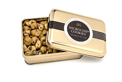 World#039s Tiniest Most Irresistible Chocolate Chip Cookies | Be The Party Favorite  Give The Gift Of Gourmet Microchips | 35oz Fresh Mini Cookies In Premium Tin | Small Batch Handmade In Texas