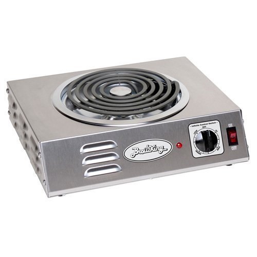 BroilKing CSR-3TB Hi-Power Single Hot Plate (Broil King 1500 Watt Hot Plate compare prices)