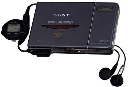 Sony MZ-E3 Potable MiniDisc Walkman Player by Sony