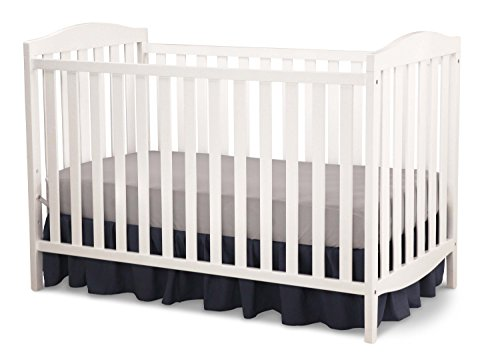 Delta Children Capri 3-in-1 Convertible Baby Crib, - Toddler Crib Simplicity