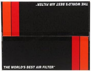 K/&N 69-8001TWR Typhoon Air Intake Kit Short Ram Wrinkle Red