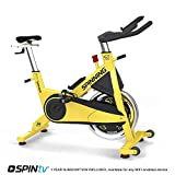 Spinner Johnny G Indoor Cycling Chain Drive Spin Bike with SPINtv...