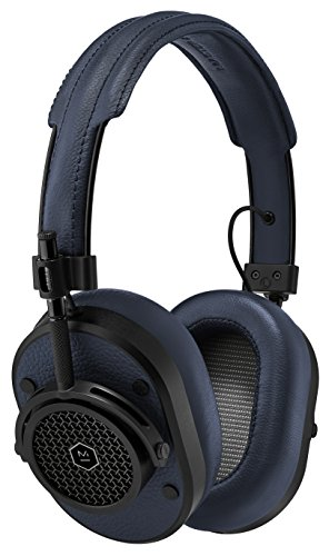 Master & Dynamic MH40 Over Ear Headphone - Navy / Black