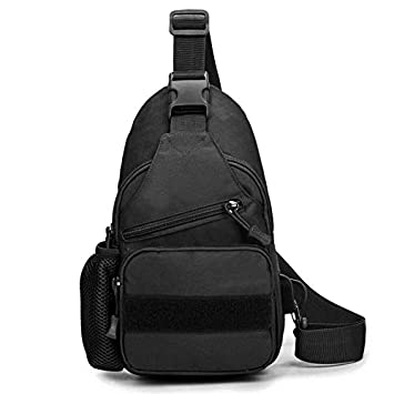 Tactical Military Bag Shoulder Chest Cross Body Backpack For Men Women Sports Climbing Hiking Travel Bag With Usb Charging Port Camping & Hiking