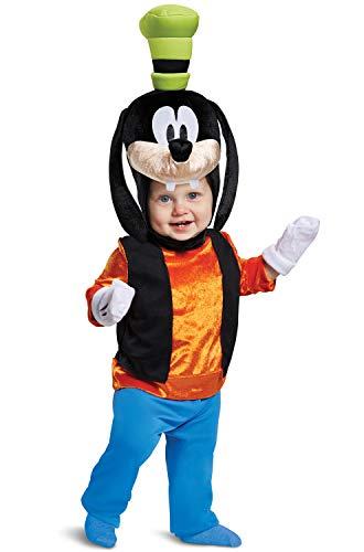 Disguise Baby Boys Goofy Classic Infant Costume, Orange, (6-12 mths)