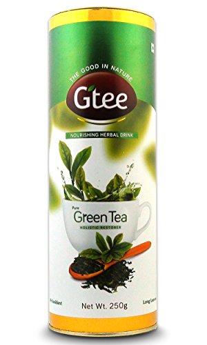 GTEE Green Tea Leaves Can, 250g