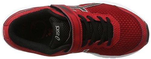 Asics Gel-Zaraca 5 Ps, Zapatillas de Deporte Unisex Niños Rojo (True Red/black/silver)
