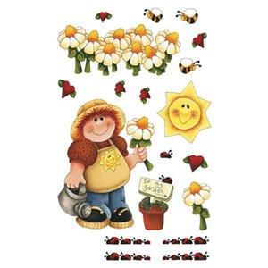 My Garden Gardener Flowers E-Z Rub On Transfers ()