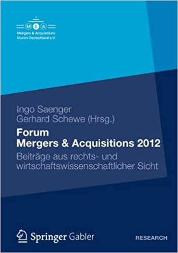 Forum Mergers & Acquisitions 2012