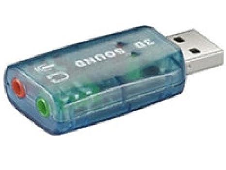 M-Cab USB 2.0 Soundkarte - Tarjeta de Sonido (2.0, 0 Db, USB ...