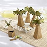 Palm Tree Favor Box - Set of 24 Style 28055NA, Wedding Reception Favors