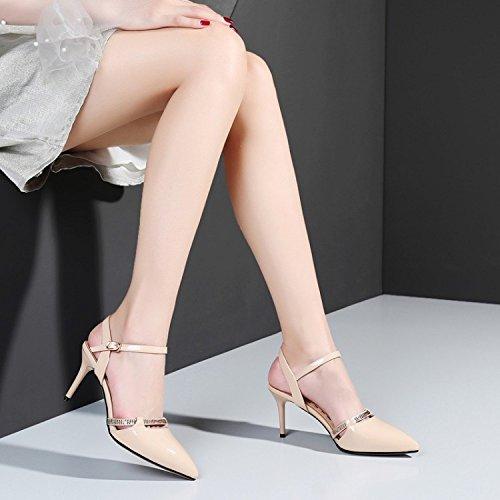 Womens Cour Pointu Toe Prom Robe Soirée De Soirée Orange Sandales Chaussures De Slingback Chaussures Stiletto rrqaxf4Zw