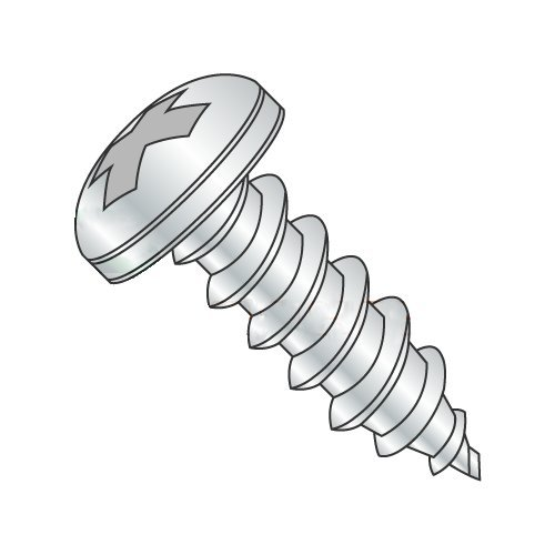 "#12 x 3 1/2"" Type A Self-Tapping Screws/Phillips/Pan Head/Steel/Zinc (Carton: 500 pcs) 41TzQOlgjHL"
