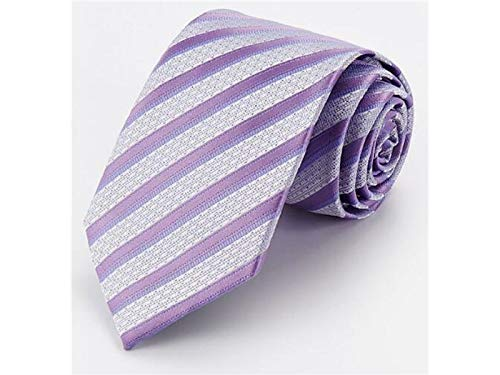 Light Grey ADream Necktie Fashion Great Men's Stripe Occasion Party Purple Casual Wedding Formal xxOwv