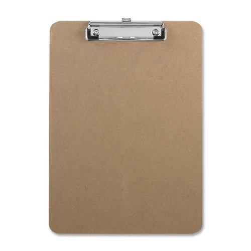 Sparco Hardboard Clipboard Rubber 9 Inch