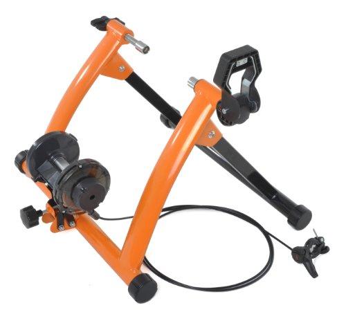 Conquer Indoor Exercise Bike Trainer Stand, Orange