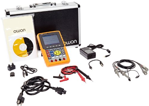 Owon HDS1022M-N Series HDS-N Handheld Digital Storage Oscilloscope and Digital Multimeter, 20MHz, 2 Channels, 100MS/s Sample - Analog Oscilloscope Digital