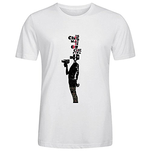 Price comparison product image The Cinematic Orchestra Man With A Movie Camera Design Your Own T Shirts Mens Round Neck White
