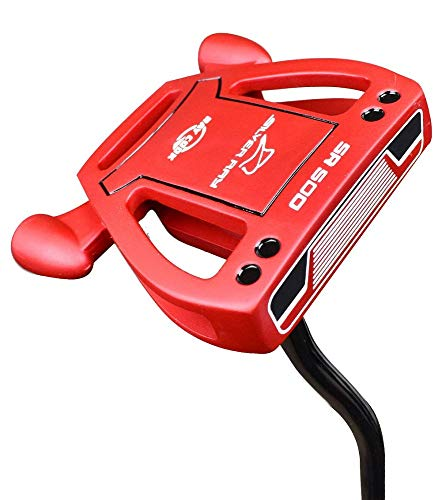 Ray Cook Golf- Silver Ray SR500 Limited Edition Red Putter