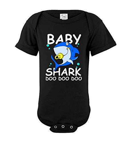 Baby Shark Kids Doo Doo Family Matching Halloween Baby Bodysuit ()