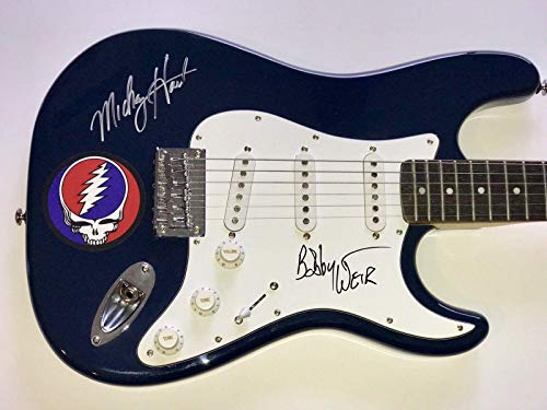 Grateful Dead signed Guitar bob weir mickey hart fender stratocaster coa - PSA/DNA - Dead Grateful Signed