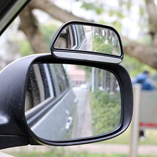 Außenspiegel justierbarer blinder Punkt-Spiegel for alle Universal-Fahrzeuge Auto Stick-on-Design (Color : Black)