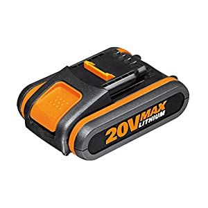Worx WA3551.1 Batteria 2.0Ah 20V agli Ioni di Litio, Worx Power Share 20V 2 spesavip