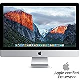 "Apple ME087LL/A iMac 21.5"" AIO Desktop, Intel Core i5-4570S Quad-Core 2.9GHz, NVIDIA GT 750M 1GB, 1TB SATA, macOS 10.8 Mountain Lion (Certified Refurbished)"