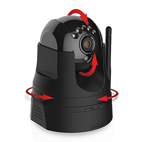 D-Link HD Pan & Tilt Wi-Fi Camera (DCS-5029L)