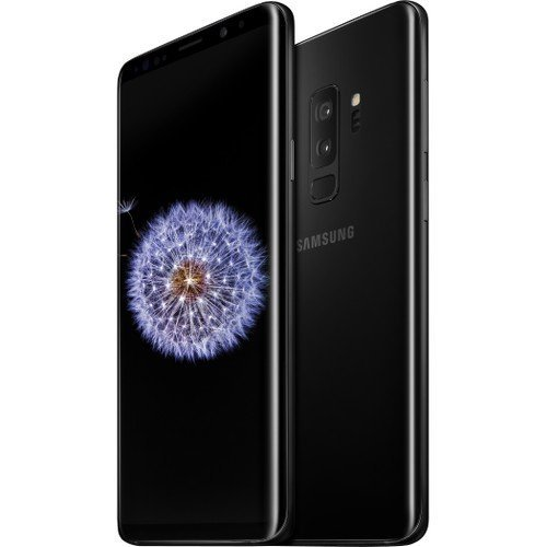 Samsung Galaxy S9+ Unlocked Smartphone - Midnight Black - US Warranty