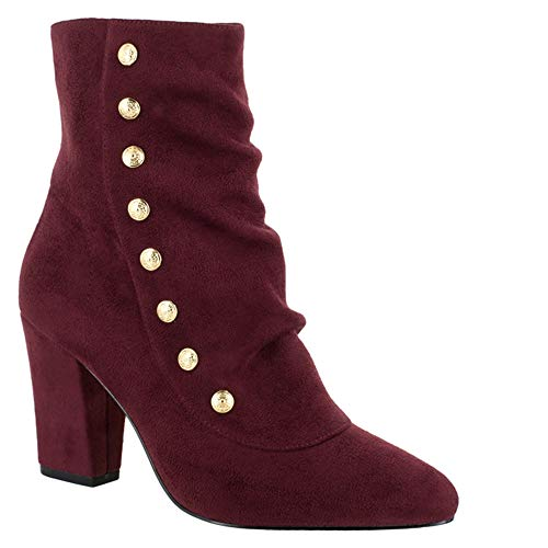 II Burgundy Vita Women's suede Gillian Boot Bella Fqv7Bw61x