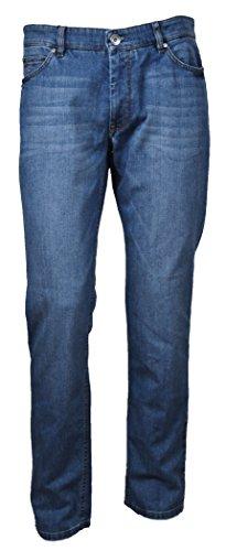 Fynch Hatton Herren Jeanshose Blau Blau
