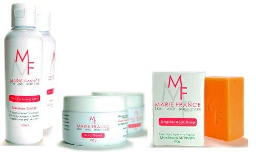 Marie France Professional Body Whitening Kit