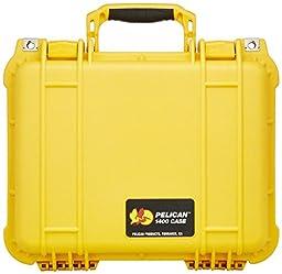 Pelican 1400 Case w/Foam (Yellow)