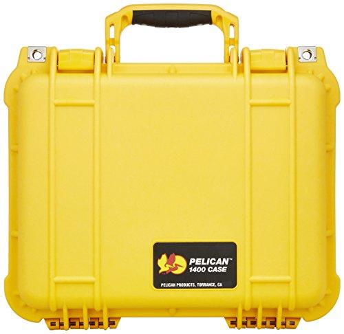 Pelican 1400 Case w/Foam (Yellow) (Pelican 1400 Protector)
