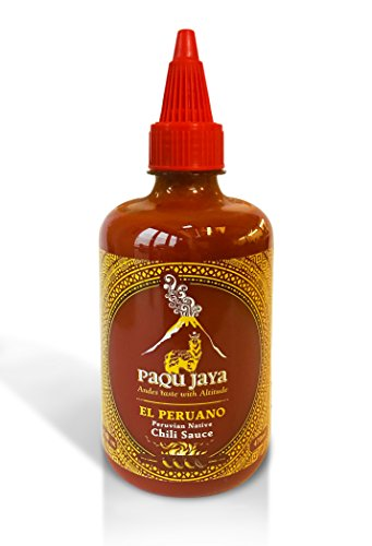 - Paqu Jaya El Peruano Chili Hot Sauce - 16.5oz Non-GMO, Gluten-Free, Vegan | Sweetened with Mango & Sourced Sustainably in Peru | Used Globally by Top Chefs!