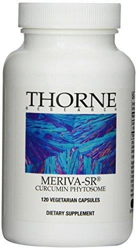 Thorne Research - Meriva-SR curcumine Phytosome 500 mg. - 120 Vegetarian Capsules