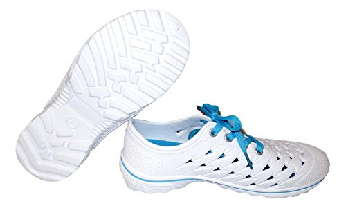 BEACH Closed Style 6 Water Shoes Foam 101 Turquoise Sneaker Cell Ladies Size 11 xAwqdIS