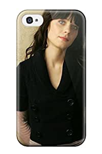 Rex Harper Fashion Protective Zooey Deschanel 4 Case Cover For Iphone 4/4s