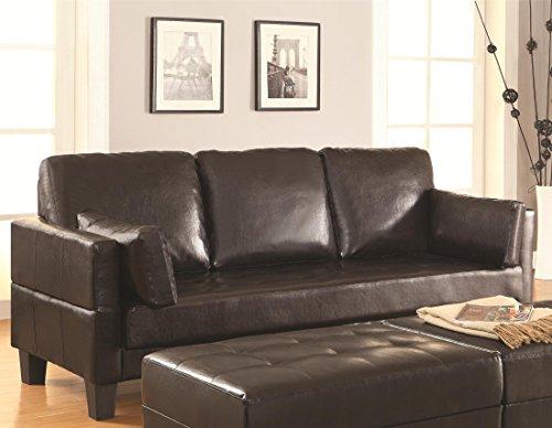 Coaster 300204 Home Furnishings Sofa Bed, Dark