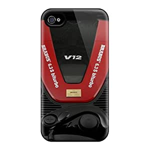 High Quality Shock Absorbing Case For Iphone 4/4s-brabus Cl 600 Sv12 Engine