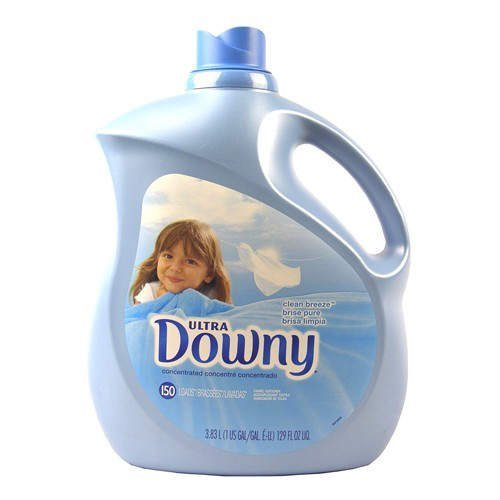 Price comparison product image Downy Clean Breeze Fabric Softener - 150 loads - CASE PACK OF 4 by Downy