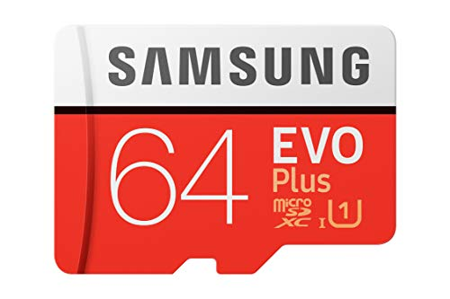 Samsung EVO Plus 64GB microSDXC UHS-I 100MB/s Full HD & 4K UHD Memory Card with Adapter (MB-MC64HA)