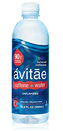 Avitae Natural Caffeine Water 90mg Caffeine | No-Crash Coffee & Soda Substitute | Green Coffee Bean Extract, Zero Chemicals, Zero Sugar, Zero Calories (12 Pack)