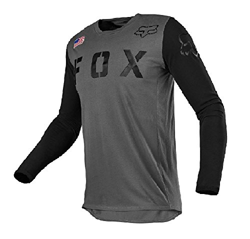 Fox Racing 2018 Youth 180 San Diego Special Edition MX Offroad Motorcycle ATV Jersey Gray/Black X-Large ()