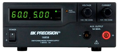 B&K Precision 1685B Switching Bench DC Power Supplies, 1-60V, 5A by B&K Precision