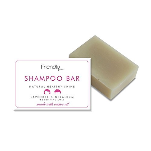 Friendly Soap Natural Shampoo Bar Lavender & Geranium 95g